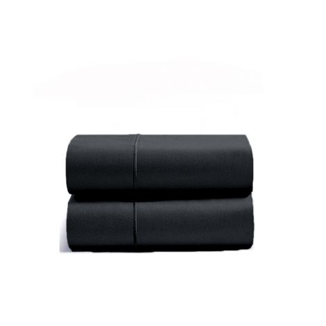 luxurious-single-embroidery-border-sateen-pillowcases-black-solid