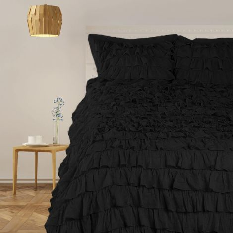 sateen-solid-waterfall-ruffle-duvet-cover-set-black-solid