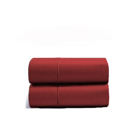 luxurious-single-embroidery-border-sateen-pillowcases-burgundy-solid