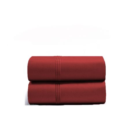 luxurious-triple-embroidery-border-sateen-pillowcases-burgundy-solid