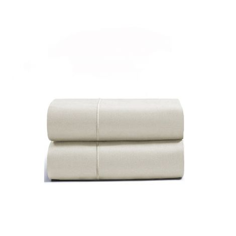 luxurious-single-embroidery-border-sateen-pillowcases-ivory-solid