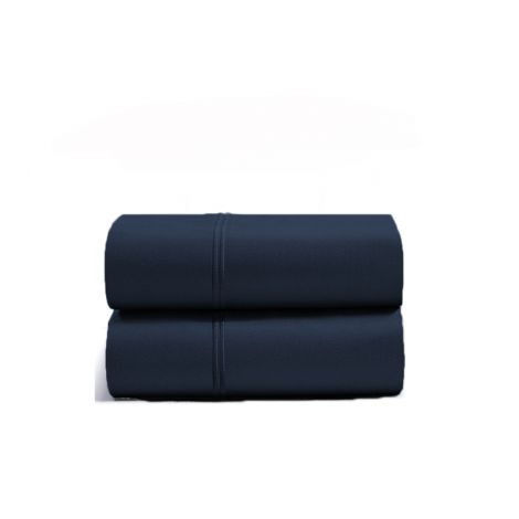 luxurious-double-embroidery-border-sateen-pillowcases-navy-blue-solid