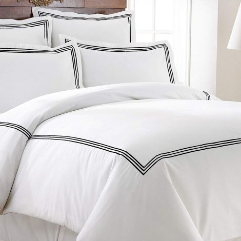 white-black-border-embroidery-border-duvet-cover