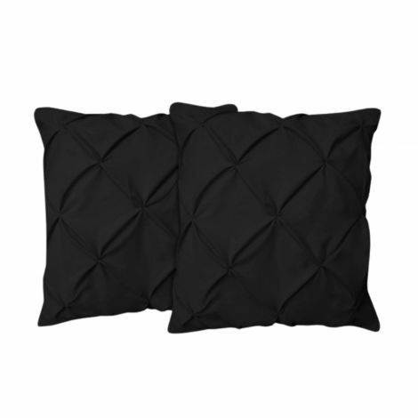 sateen-euro-sham-Black Solid