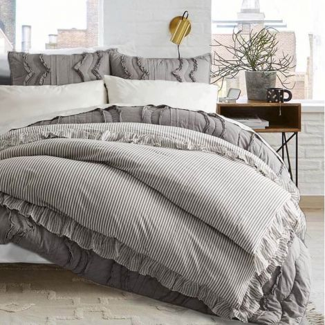 vintage-ruffle-yarn-dyed-duvet-covers