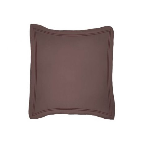 luxurious-double-embroidery-border-sateen-euro-sham-chocolate-solid