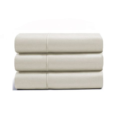 luxurious-single-embroidery-border-sateen-flat-sheet-ivory-solid