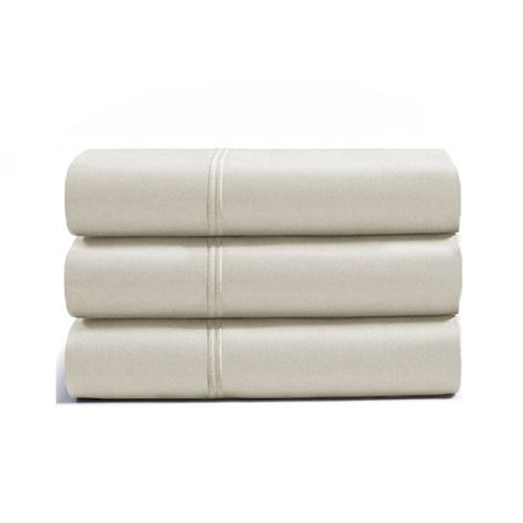 luxurious-double-embroidery-border-sateen-flat-sheet-ivory-solid