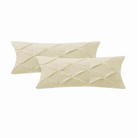 pintuck-sateen-body-pillowcase-Ivory Solid