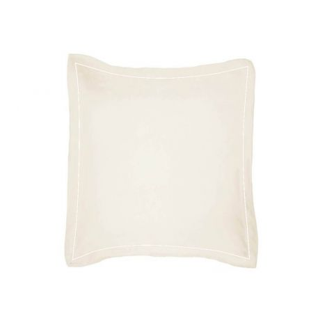 luxurious-single-embroidery-border-sateen-euro-sham-ivory-solid