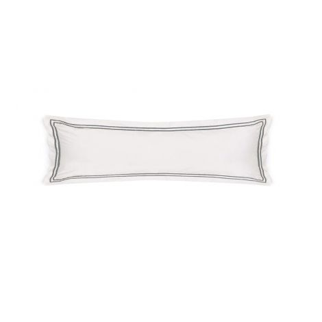 400 Thread Count Double Embroidery Border Sateen Cotton Body Pillowcases (Set Of 2)