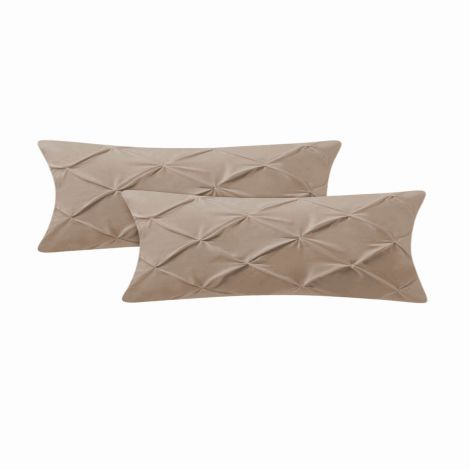 pintuck-sateen-body-pillowcase-Taupe Solid