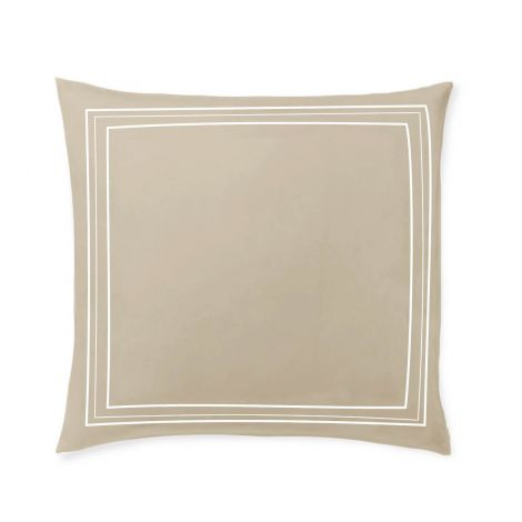 sateen-euro-sham-classic-luxurious-Taupe Solid