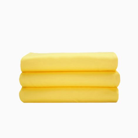 sateen-solid-flat-sheet-yellow-solid